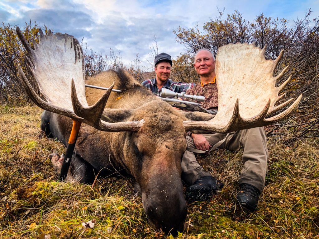 Guided British Columbia Moose Hunt