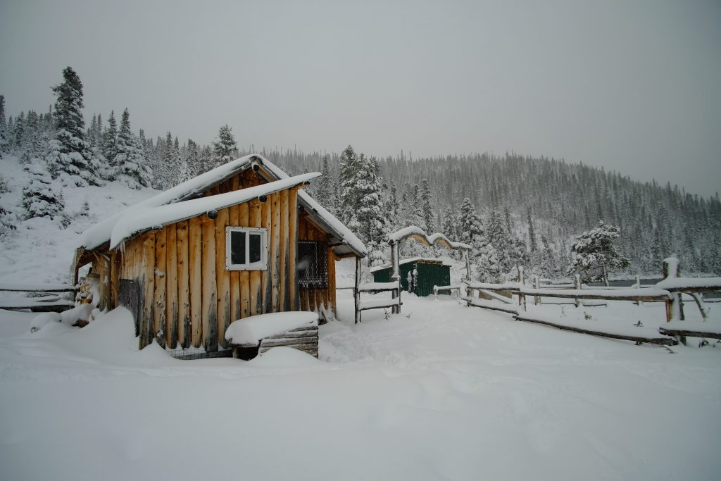 Snowy Hunting Lodge